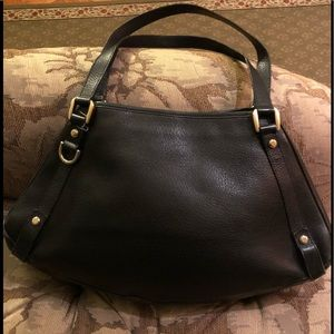 Authentic Gucci Abbey Leather Bag Black